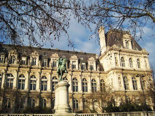 Hotel de ville city hall historic paris for Hotel deville paris