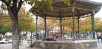 Music kiosks – Paris public parks – gardens