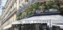 Cafe de Flore in Saint-Germain-des-Pres