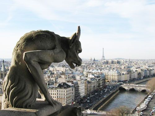 Notre Dame Cathedral - Gargoyle