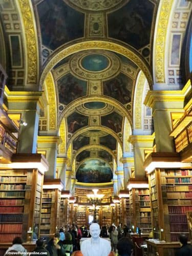 Assemble Nationale Library with painted ceilings
