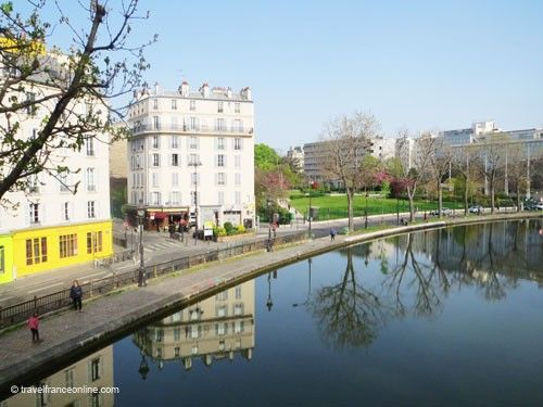 Canal Saint Martin - A gentrified district