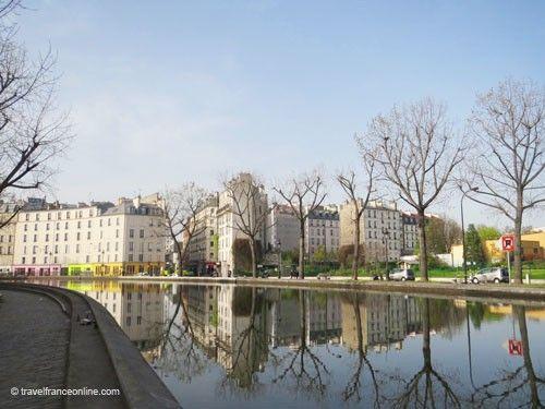 Canal Saint Martin in Winter