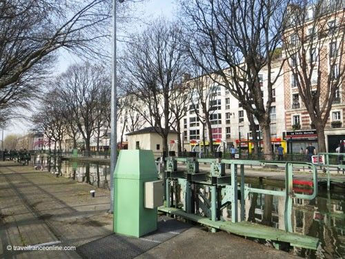 Lock on Canal Saint Martin