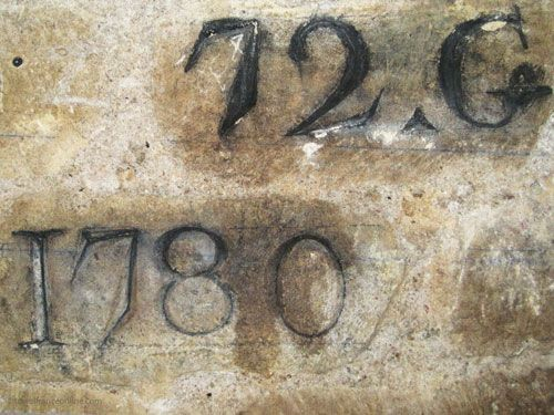 Reference inscription in Paris Catacombes