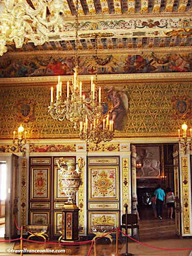 Chateau de Fontainebleau - Former guardroom in Donjon