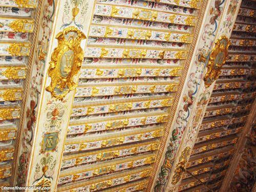 Chateau de Fontainebleau - Painted ceiling