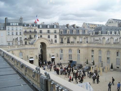 Elysee palace - Cour d'Honneur