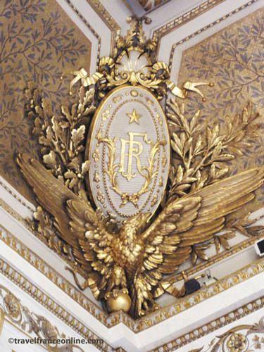 Elysee palace - Salon Napoleon III ceiling