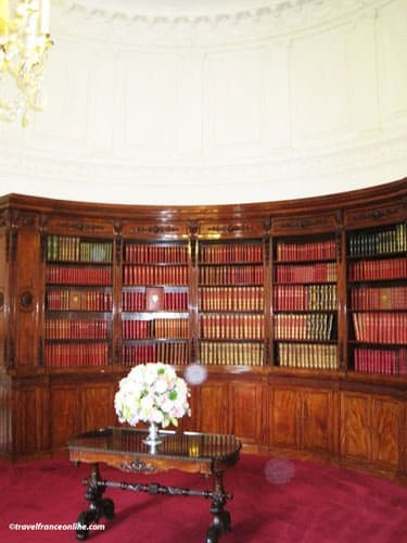 Private Library Study Rooms: Elysee Palace, French President Residence