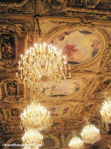 Elysee palace - Chandeliers in Salle des Fetes