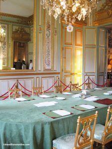 Elysee Palace - Salon Vert