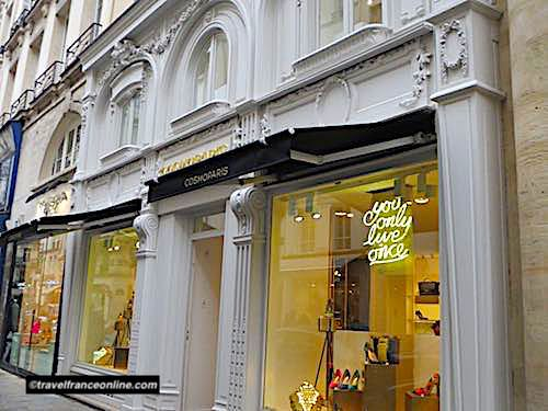 Faubourg Saint Honore in Paris