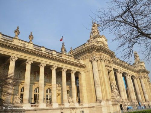 Grand Palais- Facade on Avenue Churchill