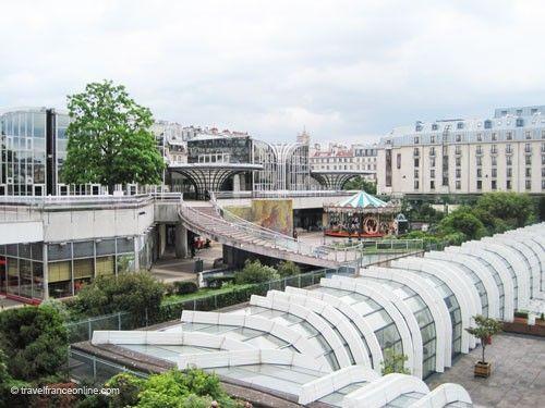 Les Halles before