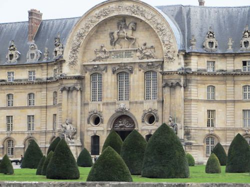 Hotel des Invalides - Liberal-Bruant facadee