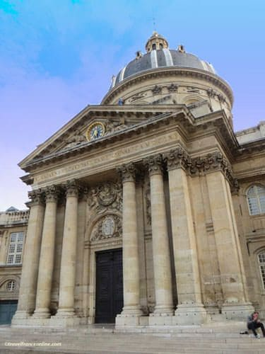Institut de France - Monumental entrance porch