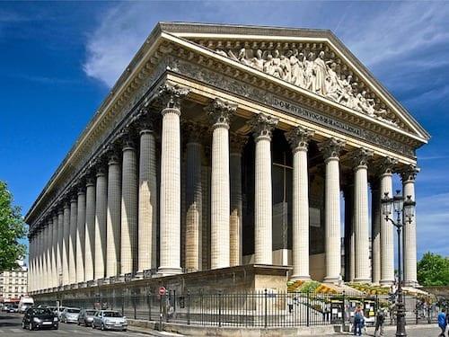 La Madeleine Church in Paris
