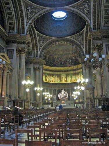 La Madeleine Church interior
