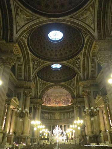La Madeleine Church - three cupolas