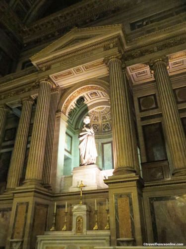 La Madeleine Church - Lateral chapel