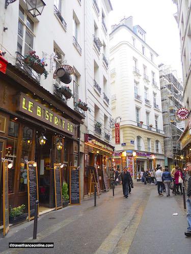 Rue de la Huchette in Latin Quarter