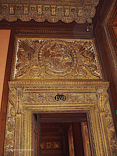 Louvre Museum - 16th century door and decoration