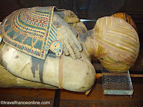 Louvre Museum - Egyptian mummy
