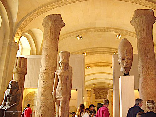 Louvre Museum - Egyptian department