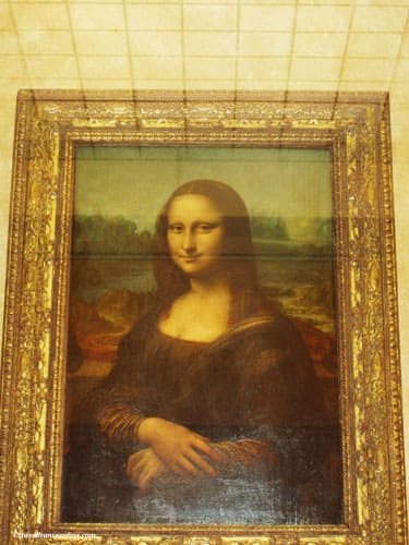 Louvre Museum - Mona Lisa