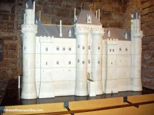 Model of fortress in Louvre Palace