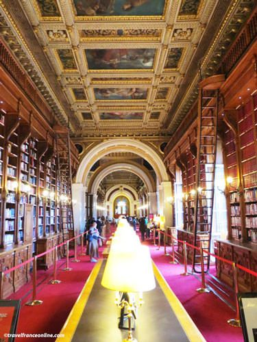 Luxembourg Palace - Library - ceilings painted by Delacroix