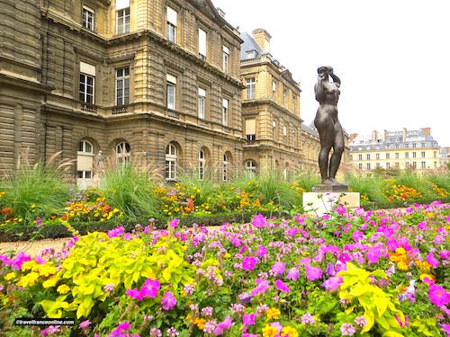 Luxembourg Palace's formal gardens