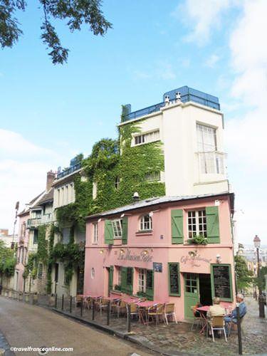 Montmartre Village - La Maison Rose