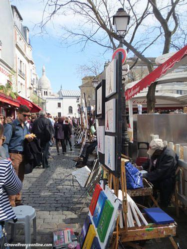 Montmartre village - Place du Tertre