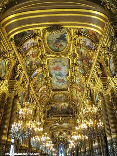 Opera Garnier - Salon d'Honneur