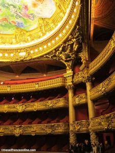 Opera Garnier - Theatre loggias