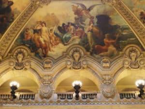 Opera Garnier - Lavish murals