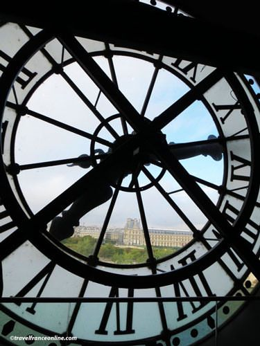 Orsay Museum - Clock on riverside