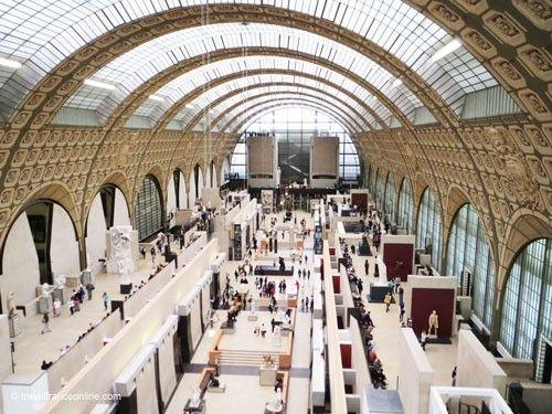 Orsay Museum - Main exhibition hall