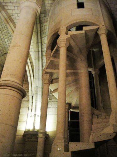 Conciergerie - Staircase to Salle Haute
