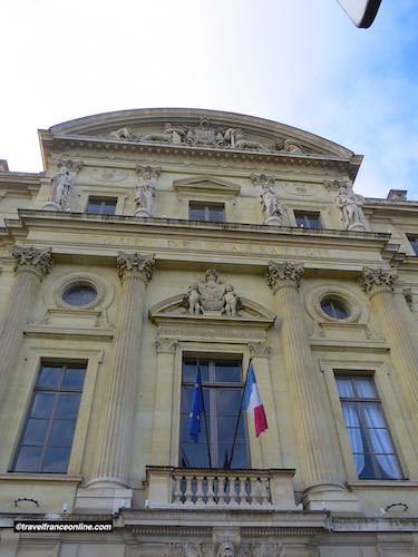 Court of Cassation entrance in Palais de Justice
