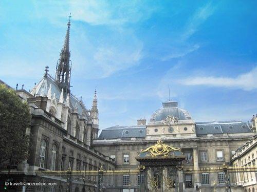 Palais de Justice - Sainte-Chapelle and Cour du Mai