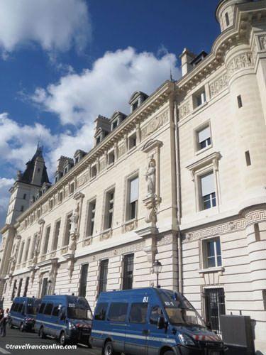 Palais de Justice - Quai des Orfèvres