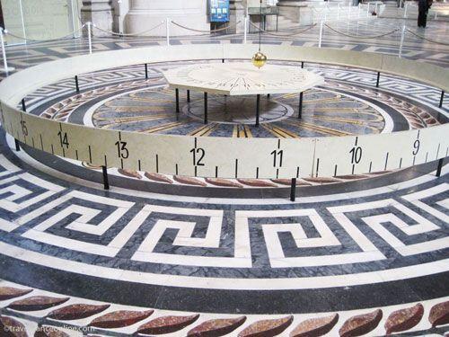 Foucault's Pendulum in the Pantheon