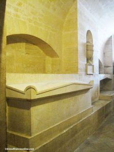 Victor Hugo's tomb in Patheon's Crypt