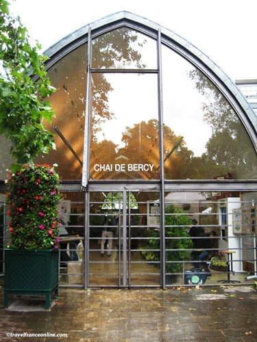 Le Chai de Bercy in Parc de Bercy