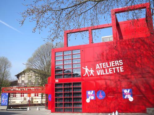 Ateliers Villette in Parc de la Villette
