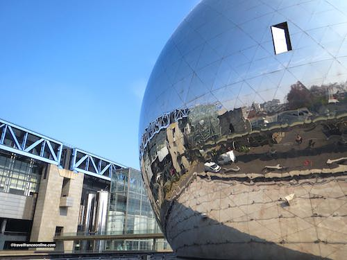 Parc de la Villette - Geode and Sciences Museum