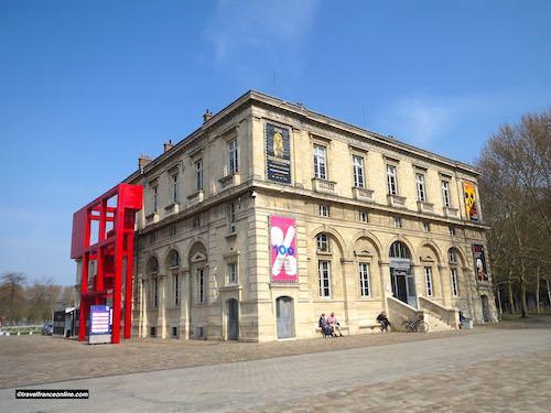 Pavillon Janvier in Parc de la Villette